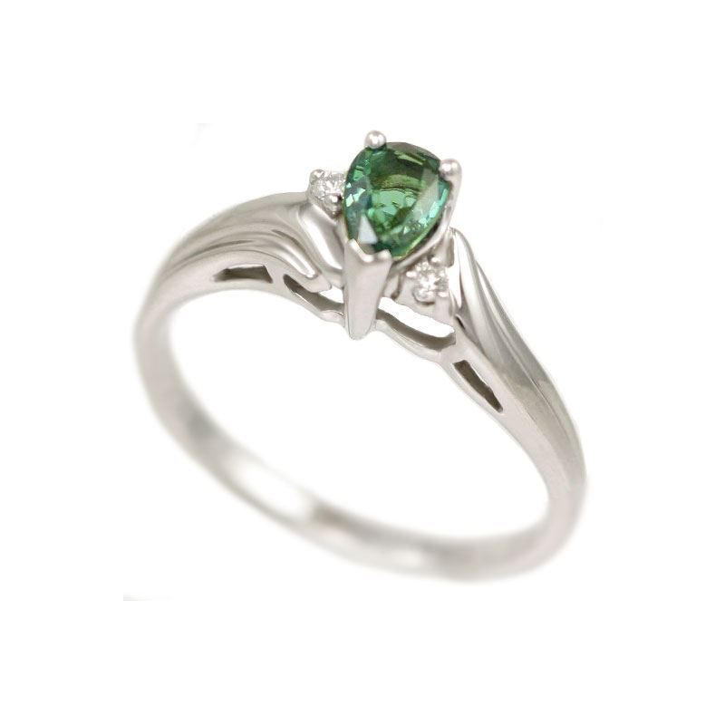 Natural Alexandrite Necklace: Natural Alexandrite Ring 0.58 Carat