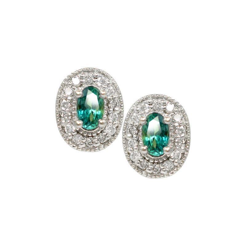 Natural Alexandrite Earrings
