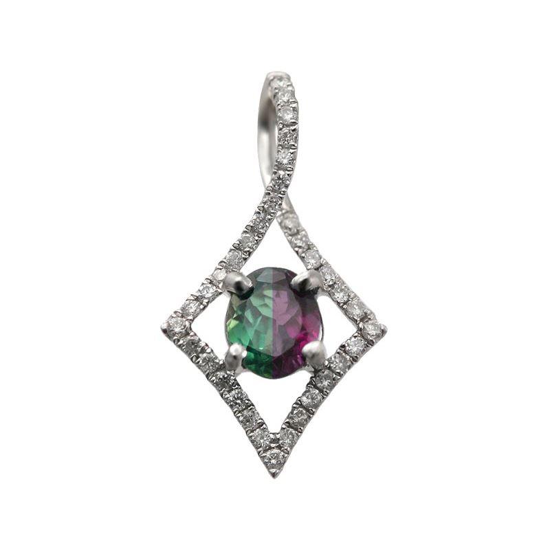 038 carat natural alexandrite pendant alaska jewelry 038 carat natural alexandrite pendant aloadofball Images