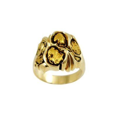 dd4f813a1b158 Gold Nugget Rings Archives - Alaska Jewelry
