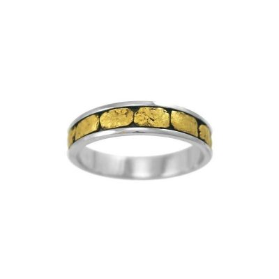 Gold Nugget Rings Archives - Alaska Jewelry